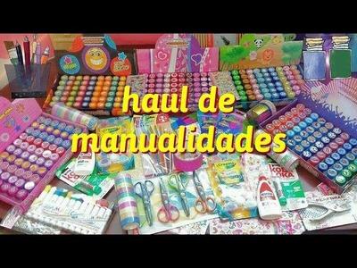 Haul, compras para manualidades - Ingenio KD