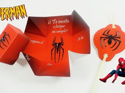 IDEAS PARA FIESTA DE SPIDERMAN