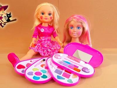 Kit de Maquillaje de 4 Pisos Maquillamos a las Muñecas | Juguetes para Niñas
