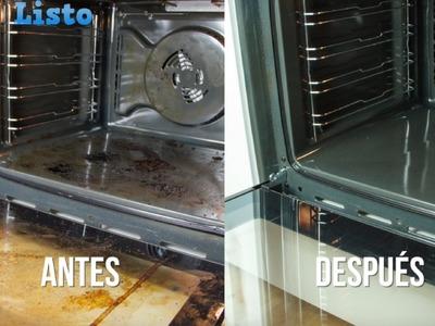 Si odias limpiar el horno, este truco te encantará. Brillantísimo y casi sin mover un dedo.