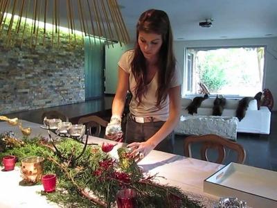Tala Restrepo - Centro de mesa navideño