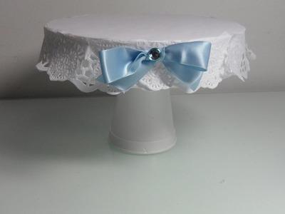 Bonita bandeja para una mesa dulce de cumpleaños o bautizo  idea original