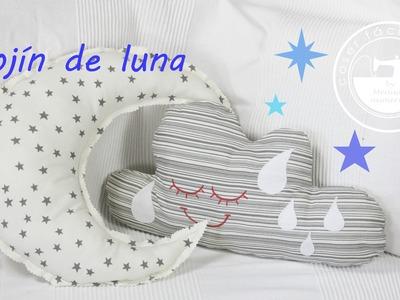 Cómo coser un cojín de luna
