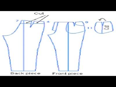 """Como hacer el trazo del jeans """"peticion"""""""
