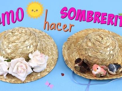 Cómo hacer Sombreros para muñecas Baby alive • Accesorios para muñecas