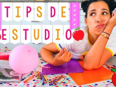 ¿COMO SACAR BUENAS NOTAS? TIPS DE ESTUDIO | VUELTA A CLASES | BACK TO SCHOOL