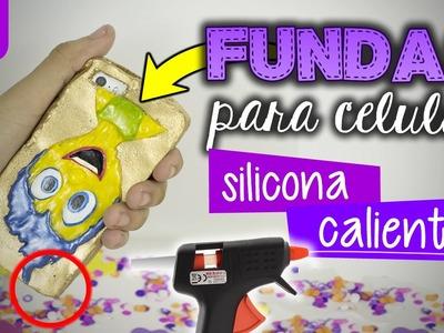 FUNDAS para celular CASERAS con silicona CALIENTE