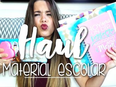 HAUL MATERIAL ESCOLAR 2016 ✏ || BACK TO SCHOOL