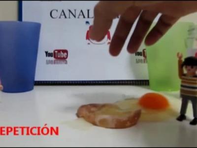 Huevo + vinagre : Huevo saltarín elástico