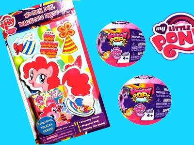My Little Pony Muñeca Magnetica Pinkie Pie  + 2 MLP Huevo Sorpresa