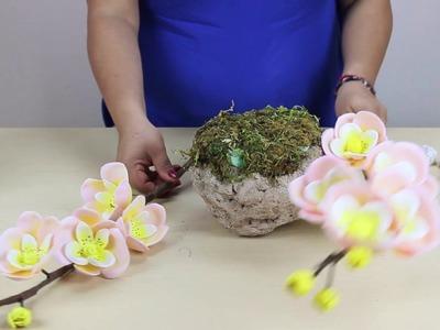 PARTE 2: ArregloFloral Orquídeas para XV Años Foamy
