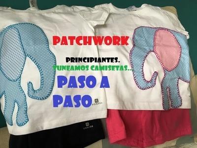 PATCHWORK para Principiantes. Tuneamos camisetas Paso a Paso