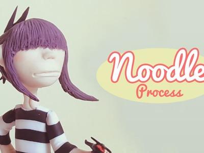 PIOPIO Handmade. Noodle (Gorillaz) Cold porcelain process