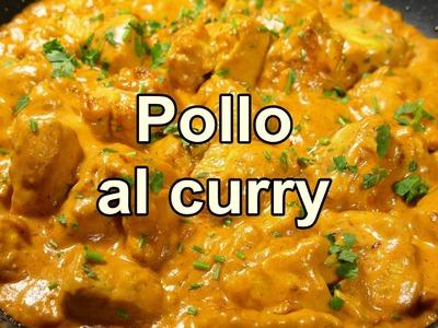 POLLO AL CURRY FACIL - recetas de cocina faciles rapidas y economicas de hacer - comidas ricas