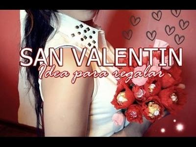 REGALO PARA NOVIO.A Ramo de Chocolates ♥SAN VALENTIN♥| SHELSORADO