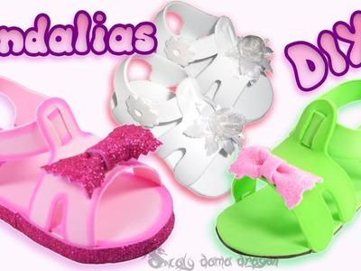 Sandalias de Foamy o Goma eva Souvenir Baby shower, comunión, Bautizo