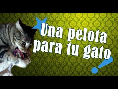 Una pelota para tus gatos
