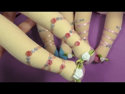 Zapatitos lolita de las flores 1.5 manualilolis VIDEO-192