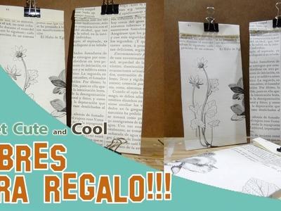 Como hacer bolsas de papel para regalo con papel reciclado!!