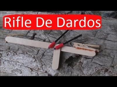 Cómo Hacer Un Rifle De Dardos Casero