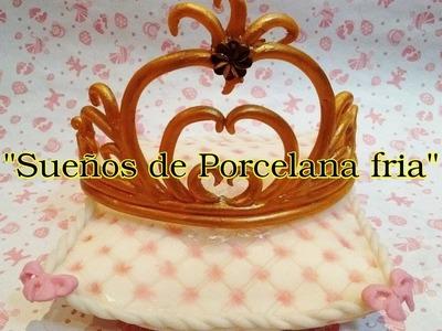 Corona de Princesa en Porcelana fria