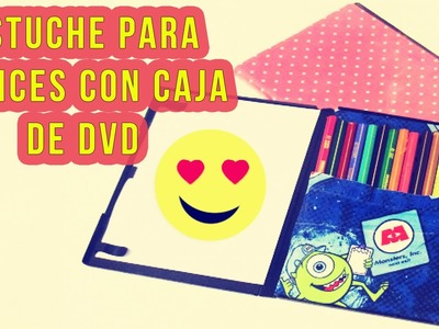 DIY - Estuche de Lapices con Caja de DVD