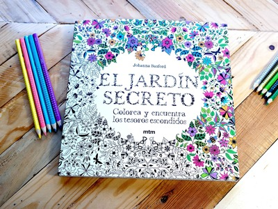 EL JARDÍN SECRETO, materiales para colorear - Mery