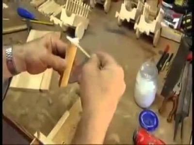 Fabricación de figuras en madera