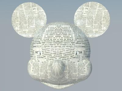 Piñata Minnie. Mickey | Armado cabeza