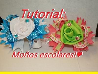Tutorial: Como hacer un moño escolar!