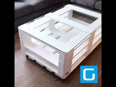 22 ideas para hacer una mesa de palets [Imágenes]