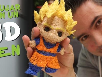 DIBUJANDO EN EL AIRE MUÑECOS 3D! Review boligrafo impresora 3D barata, 3D Print Pen  en Español