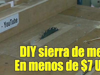 DIY Sierra de banco Parte 1.6 - Construcción version 1