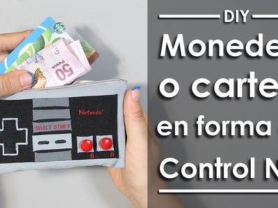 Monedero o Cartera de Control NES - DIY
