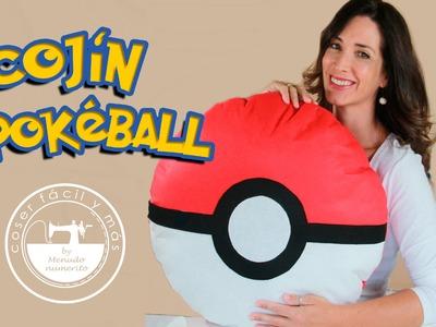 Cojín de Pokeball de Pokemon fácil