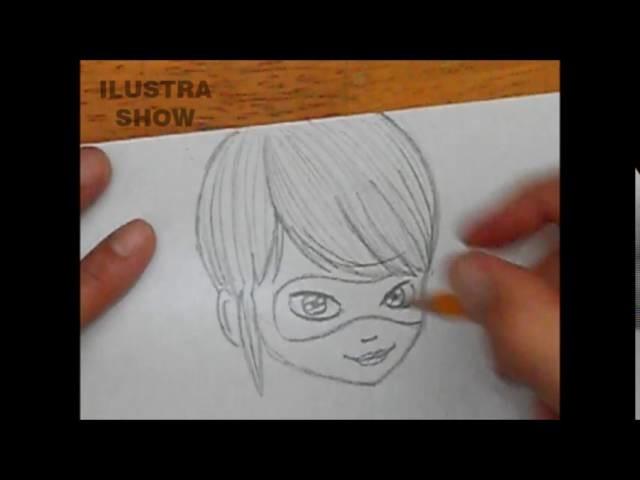Como Hacer La Libreta De Dibujo De Marinette Prodigiosa: Cómo Dibujar A PRODIGIOSA Marinette Las Aventuras De