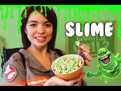 Cómo hacer Slime comestible de Ghostbusters! | Nom Nom