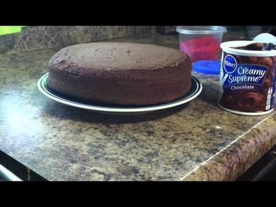 Como hacer  un pastel estiló tronchatoro