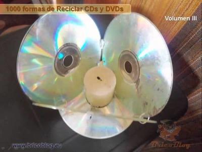 Copia de 1000 ideas creativas para manualidades reciclado CDs y DVDs III