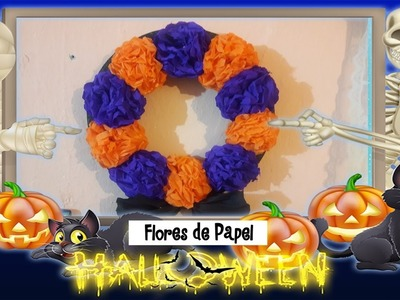 Corona de Flores de Cempasúchil. dia de muertos