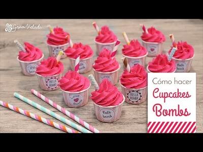 Hacer bombas de baño Cupcake con éxito