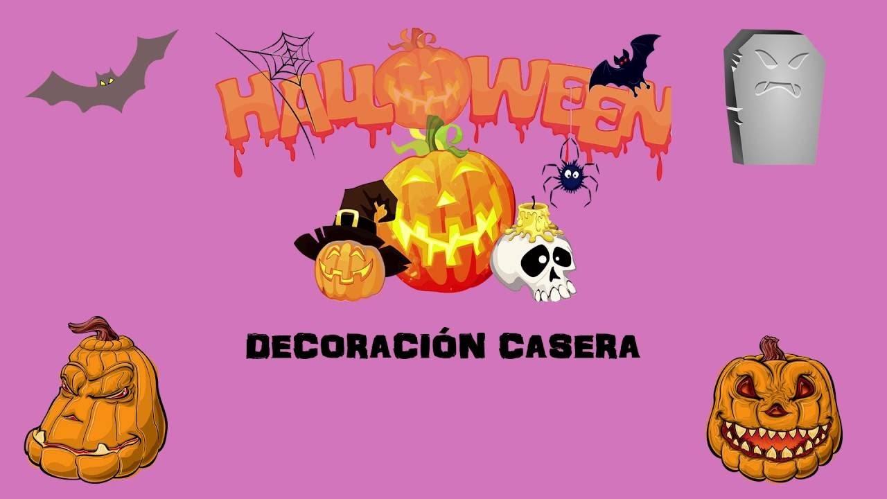 Halloween decoraci n casera - Decoracion halloween casera ...