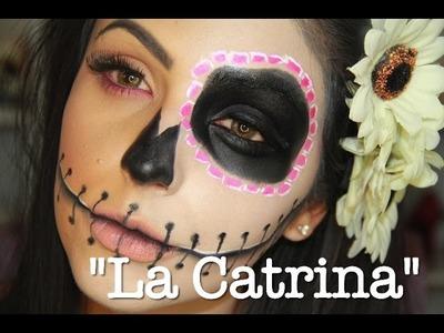 """""""La Catrina"""" maquillaje para Halloween!"""