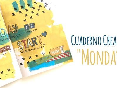 Mi cuaderno Creativo - Monday - Traveler's Notebook