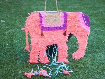 Piñata con bolsa