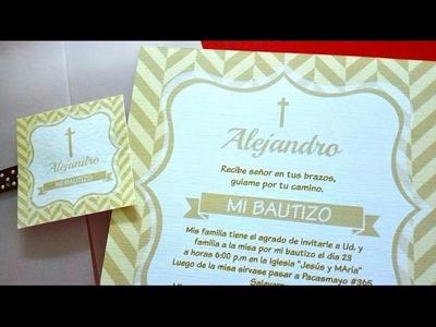 Realiza tus propias invitaciones GRATIS Y SIN PROGRAMAS!! - El Taller de Carol Deza