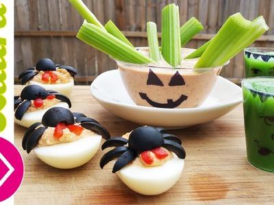 Recetas de Halloween ❤ Ideas para niños FACILES Y SALUDABLES ❤ Las Recetas de Laura