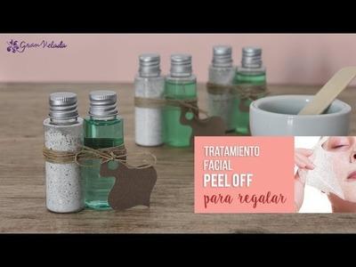 Tratamiento facial Peel Off para regalar en tu boda
