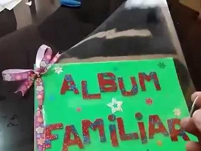Album Familiar para el colegio