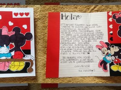 Carta bonita y fácil! para tu novio.a ♡ | [5]